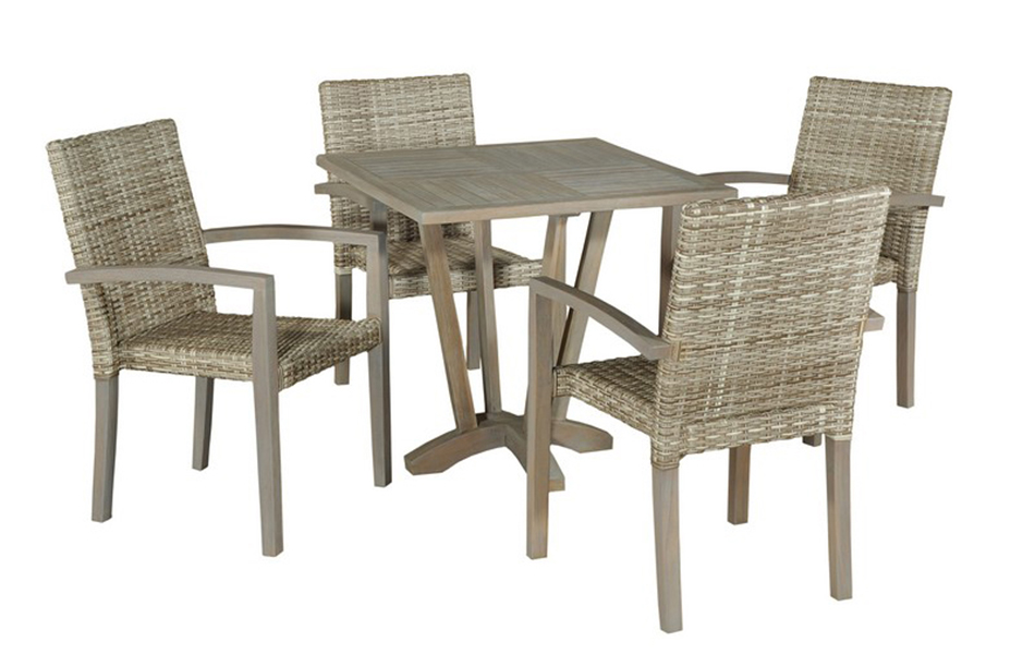 Square Table & Stacking Ventura New